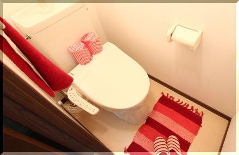 モデルルームの展示トイレ