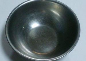 一般的な調理用のステンレスボウル