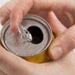 缶ビールを開ける瞬間