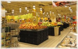 食料品売り場