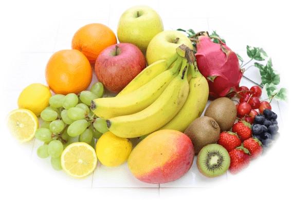 色々な果物