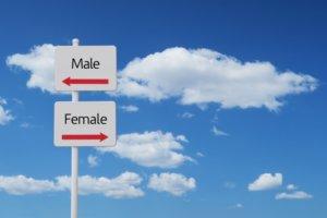 男性用と女性用