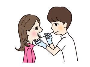 お口の検査