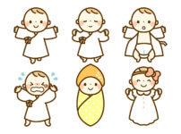 赤ちゃんの着るもの