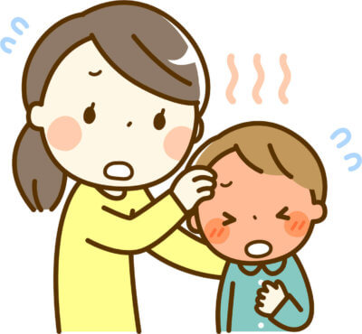 子供の熱中症