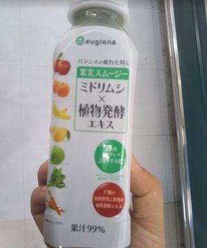 果実スムージーミドリムシ×植物発酵エキス